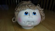 The Original Doll Baby 1984 Cabbage Patch Doll Heads