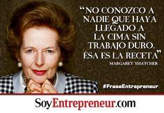 Hace unos días falleció La Dama de Hierro, quien fuera primera ministra de Inglaterra. En un país dominados por hombres, Thatcher demostró que el secreto del éxito está en la voluntad.