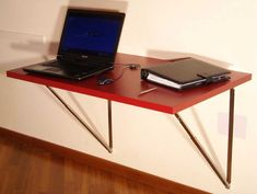 Folding Tables Wall Mount And Tables On Pinterest