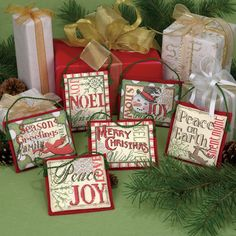 Dimensions Crafts® | Christmas Sayings Ornaments