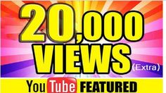 Do you want your YouTube Video famous? We are here to help you.  20000 HR safe views