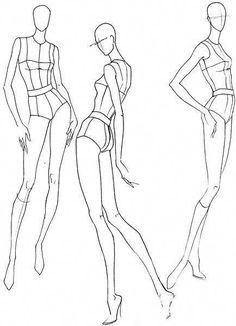 Шаблоны женских фигур в движении #fashiondesigners Model Sketch, Sketch Fashion, Fashion Model Drawing, Fashion Figure Drawing, Croquis Fashion, Fashion Design Drawings, Fashion Sketchbook, Fashion Illustration Poses, Fashion Illustration Template