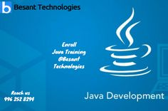 """""""Java is a Secure Platform"""" Know more about java by enrolling #Java #Training in #Chennai only at Besant Technologies"""