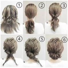 14 Stylish Easy Hairstyles Step By Step DIY Are you feeling bored with your regular look? That is quite normal when you have been wearing the same hairstyle for a long time. But, we all know that changing your hairstyle is difficult. It is quit Work Hairstyles, Pretty Hairstyles, Beehive Hairstyles, Layered Hairstyles, Bouffant Hairstyles, Asymmetrical Hairstyles, Simple Hairstyles, Bridal Hairstyles, Everyday Hairstyles