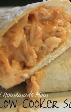 Slow Cooker Salsa Chicken - chicken, taco seasoning, salsa, cream of chicken soup, and sour cream... AHHMAZING!