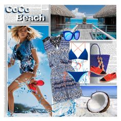 """""""CoCo Beach"""" by stylepersonal ❤ liked on Polyvore"""