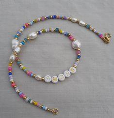 Handmade Wire Jewelry, Handmade Necklaces, Bead Jewellery, Beaded Jewelry, Diy Beaded Bracelets, Jewelry Necklaces, Cute Jewelry, Jewelry Crafts, Jewelry Ideas