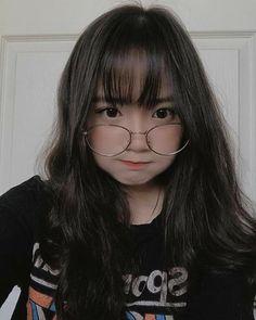 Pretty Korean Girls, Korean Beauty Girls, Cute Korean Girl, Asian Girl, Korean Girl Photo, Korean Girl Fashion, Cute Kawaii Girl, Cute Girl Face, Korean Glasses