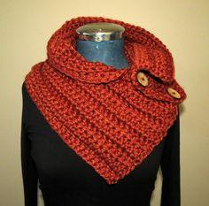 #Farbbberatung #Stilberatung #Farbenreich mit www.farben-reich.com NECK WARMER Multi-wear crochet cowl knitted von GnarlyKnitsGroup