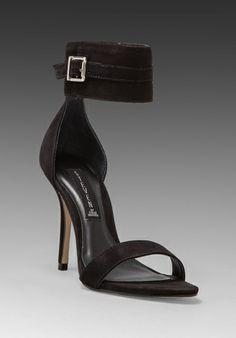 STEVEN Mauryce Heel in Black Nubuck at Revolve Clothing - Free Shipping!