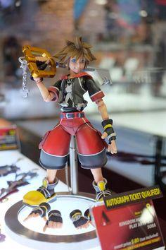 San Diego Comic Con 2014 - Figures De Kingdom Hearts - Select Game
