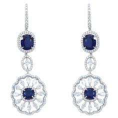 Blue Spoke Danglings  Product Code : ADERM1400026    Type : Blue Hydro, Swarovski  Color : Blue  #SilverEarringsOnlineShopping  #SilverEarringsOnlineIndia  #SilverEarringsIndia    #SilverEarringsOnline  #BuySilverEarringsOnline  #SilverEarringsForWomen  #SilverEarring #DesignerSilverEarrings  #BuySilverEarrings  #SilverEarrings  #Earrings
