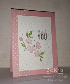 Stampin' Up ! - Painted Petals - ZoKris