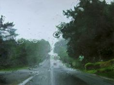 Paintings by Gregory Thielker - 'Low road'  2006 oil on canvas 36 x 48 inches