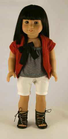 American Girl Doll Clothes  BowTied Halter by Forever18Inches