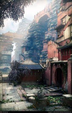 美麗な未来都市の3D CG 13枚(Stefan Morrell) | インスピレーション‐美麗画像(写真・イラスト・CG)を毎日紹介