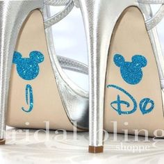 Subtle Disney touch to my feet!!