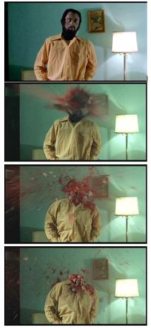 Dawn of the Dead - opening headshot