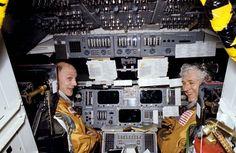 , astronaut on 3 shuttles, Columbia test pilot - The Boston Globe Apollo Space Program, Nasa Astronauts, Space Shuttle, Columbia, Pilot, Jr, Boston, Globe