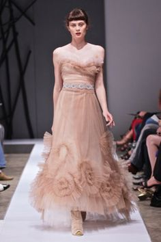 Vesselina Pentcheva blush dress Blush Dresses, Evening Gowns, Formal, My Style, Fashion Design, Inspiration, Beautiful, Evening Gowns Dresses, Preppy