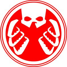 A quick trace of the SHIELD-HYDRA logo from Paolo Rivera