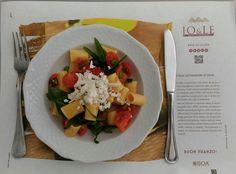 E' tornato il #sole e il Self #Restaurant di Jo&le si prepara all'#estate con un piatto simbolo della bella stagione... oggi in tavola per i nostri ospiti: ➥ Insalata di Pasta con Pomodori e Rucola Fresca e una spolverata di Ricotta Marzotica! Ti ha fatto venire #fame? Beh, allora vieni a trascorrere la tua pausa #pranzo da Jo&le! Ci trovi all'Interporto Regionale della #Puglia a #Bari in via Giuseppe Degennaro