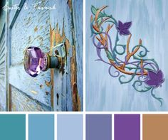 Natural colors come to life in vivid jewel tones with this Luster & Tarnish color inspiration.