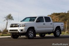 Toyota Tacoma Super White - 2013 TRD OFF-ROAD 4x4. #toyotatacoma #trd #trdoffroad #toyota