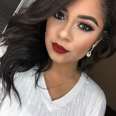 Holiday makeup looks are in full blown gear. I love creating holiday makeup looks and this week it's all about theBeauty Mix: Red. Let's be real here, we all know we can rock the red lipstick. You can wear it by simply wearing no eyeshadow and with some mascara but today I did a sultry …
