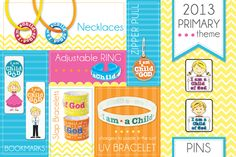 Check out all of these 2013 Primary Themed Products. All under $3 each! Perfect for the monthly birthday gifts in primary.