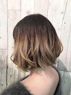 Brown Gradation Hair