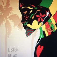 I managed to finish this yesterday. It's one of three posters I need for school. The theme is reggae, which is the music of love, peace, and relaxation. The intended image is a man that upon listening to his favorite genre of music through his headphones, feels it's vibe and grows emotional, letting all that reggae represents flow inside his veins. #illustrationoftheday #digital #art #digitalillustration #color #reggae #adobe #illustrator #illustratorsoninstagram #photoshop #lovel…