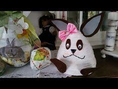 2.Osterhase aus großen Papier Röllchen - YouTube