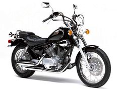 Yamaha Virago - classic! Mine's red and I've added my sissy bar and luggage rack :-)