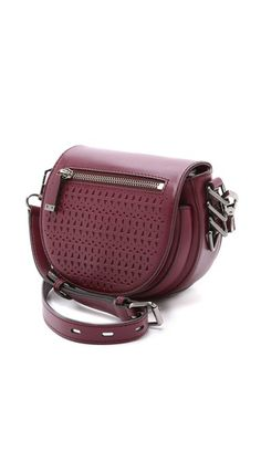Rebecca Minkoff Small Astor Saddle Bag Mini Handbags, Purses And Handbags, Hand Baggage, Across Body Bag, Pack Your Bags, Unique Bags, Backpack Purse, Small Bags, Satchels