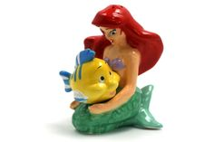Ariel and Flounder ~ Salt & Pepper Shakers