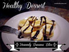 healthy dessert - banana bites #health #diet #recipe