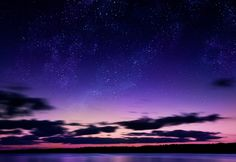 Yellow Water Under the Stars | A sky full of stars <3