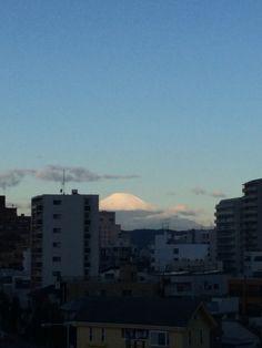 初冠雪の富士山 2014.10.16