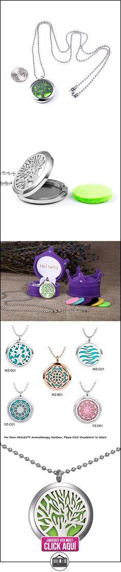 Meilanty Aceites de Aromaterapia Difusor Del Collar Colgante Hueco con Los Cojines de Colores WZ-E  ✿ Joyas para mujer - Las mejores ofertas ✿ ▬► Ver oferta: https://comprar.io/goto/B01CS1PGMA