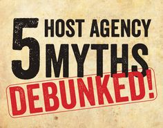 Don't believe all of the common host agency myths. Get to the bottom of it as you select the best host agency! Become A Travel Agent, Common Myths, Travel Agency, Business Travel, Travel Tips, How To Become, Stress, Life, Travel Advice