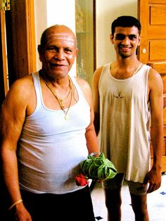 Guruji & Sharath