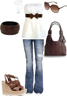 Love the top with the bow! Would be even more perfect with some boots ;)