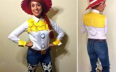 DIY Toy Story Jessie Costume