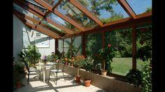 Jak postavit moderní zimní zahradu, aby rozšířila obytný prostor– Novinky.cz Pergola, Home And Garden, Patio, Architecture, Green Houses, Home Decor, Greenhouses, Arquitetura, Decoration Home