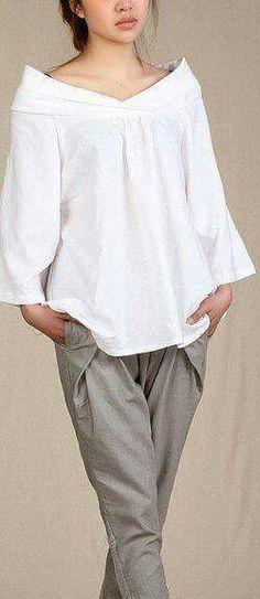 f7f5877a0bbae Linho Trendy W Modzie, Moda Uliczna, Moda Damska, Moda Paryska, Damskie  Koszulki