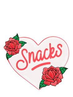 Snacks Plushie Sticker