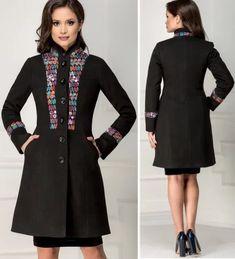 Paltoane De Iarna - Modele Cambrate Largi - Ce se poarta in iarna 2020 High Neck Dress, Dresses, Fashion, Tricot, Moda, Vestidos, Fashion Styles, Dress, Dressers