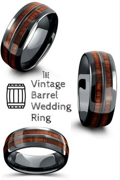 Barrel Ceramic Koa Wood Ring Barrel Ceramic Koa Wood Ring Michala Martin Ring The most unique mens wedding ring! The Vintage Wood Barrel Wedding […] rings argollas Custom Wedding Rings, Wedding Rings Rose Gold, Wedding Rings Vintage, Wedding Bands, Unique Men Wedding Rings, Wedding Men, Wedding Ceremony, Whiskey Barrel Wedding, Gold Promise Rings
