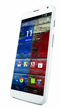 Motorola Moto X – 1st Generation, White 16GB (AT&T)   Motorola Moto X - 1st Generation, White 16GB (AT&T) Moto X is ready when you are. Talk to it, and it learns your voice. This smartphone tells you what you need to know-even without touching it. With two twists of your wrist, it becomes your camera and gets shots you'd otherwise miss, and it has 16GB of memory to save everything you capture.The first expression of the new Motorola, the Moto X for AT&T is the first smartphone to mee..